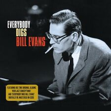 Bill Evans New Jazz Conceptions/Everybody Digs Bill Evans 2-CD NEW SEALED 2009
