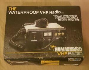 Vintage Humminbird VHF Waterproof Marine Radio Model DC-25 Unused