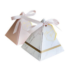 Europe Triangular Pyramid Style Candy Box Wedding Favors Party Supplies Pap C3G2