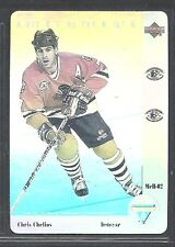 1991-92 Upper Deck McDonald's NHL All-Stars Hologram - #2 - Chris Chelios