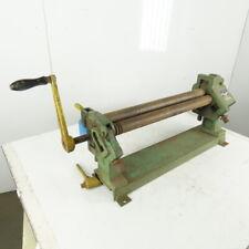 Peck Stow Amp Wilcox 383 D 3 Roll Slip Roll Former 20ga Light Steel Duct 25 Wide