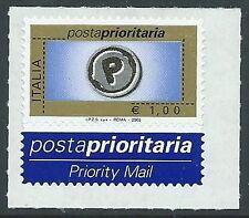 2003 ITALIA POSTA PRIORITARIA 1,00 EURO TIPOGRAFICA MNH ** - ED2