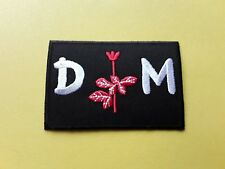 Depeche Mode Patch Embroidered Iron On Or Sew On Badge