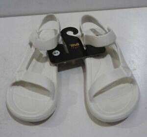 Teva Women's W Hurricane Drift Sport Sandal, White - 8 US