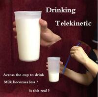 Milk Cup Gimmick Milk Disappear Magic Tricks Close-up Bar Street Magic Tricks