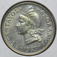 Dominican Republic 1963 25 Centavos 294294 combine shipping