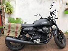 MOTO GUZZI V7 STONE HEPCO AND BECKER LEGACY PANNIERS WITH C-BOW FITTING KIT 2017