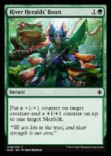 4x River Heralds' Boon NM Ixalan MTG Magic Green Common