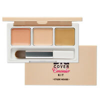 [Etude House] Big Cover Concealer Kit  - 3Color Pink Bisque, Vanilla, Sand