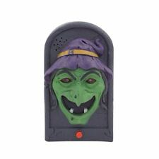 Halloween Hanging Doorbell Lights & Sounds Party Decorations ~ Wicked Witch