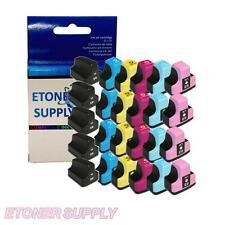 25 pack 02 ink set fits HP C6283 C5180 C7250 C8183 C6240 C6150 C6288 Printer