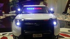 1/18 Spot light Police Lapd Chp Ut Die cast Models Swat FHP Lasd Patrol 24 1/24