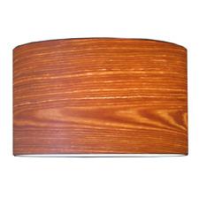Lampenschirm Holz Vintage Landhaus E27 D:30 H:22cm
