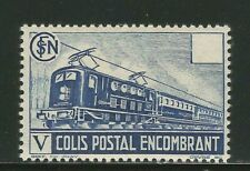 1941 France Colis Postaux train colis encombrants Yv. N°182 cote 16€ s. ch. ★★