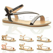 Women's Casual Block Ankle Straps Synthetic Leather Sandals & Beach Shoes