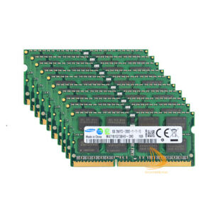 Samsung 8GB x10pcs 2RX8 DDR3 1600MHz PC3-12800S Sodimm SDRAM Laptop Memory kit
