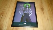 PERRIER WATER-1990's framed original advert