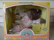 Cabbage Patch Kids Sippin' Babies, African American Baby Girl, Coleco #3750 New