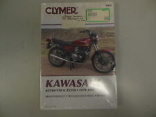 Clymer Repair Manual for Kawasaki Z KZ-500/550 ZX550 79-85