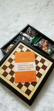 7- In-1 Game Set - Cribbage Checkers Dominos Chess Backgammon Dice Card Games