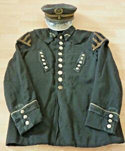 Uniformjacke, Uniformrock Bergbau mit Schirmmütze         (Art.5213)