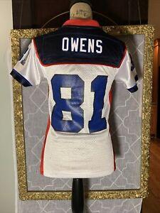 Terrell Owens 81 Official NFL Buffalo Bills Jersey Size S NEW Reebok