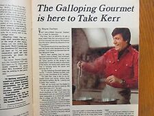 March  23, 1975  Chicago Tribune TV Week  (THE  GALLOPING  GOURMET/GRAHAM  KERR)