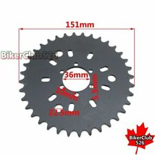 36T Rear Chain Sprocket For 49cc 50cc 60cc 80cc Motorized Bicycle Push Bike
