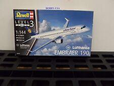 Revell -Germany   1:144 Embracer 190 Lufthansa  RMG3937-NEW