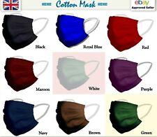 Face Mask Cotton washable reusable unisex Double Layer Fancy Color best quality