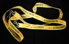 """DHL MLb Baseball All Star Fanfest Yellow 40"""" Lanyard """"New Never Used"""" Rare """"A1"""""""