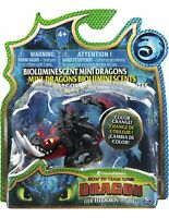 How To Train Your Dragon Deathgripper Bioluminescent Mini Dragons Figure Toy New