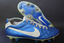 Nike tiempo legend IV SG-pro talla 44 * UK 9 azul K-cuero mixedsohle