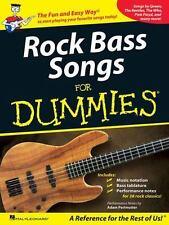 Rock Bass Songs For Dummies, , Good Book