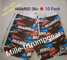 Mens MAMBO 36, Mens Size 36  Male 10- Pack