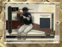 2003 Piece of the Game ALEX RODRIGUEZ Game-Worn Jersey - Rangers