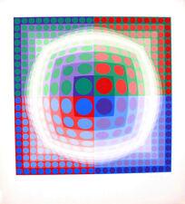 Victor VASARELY s/n Serigraphy Silkscreen VEGA 1975