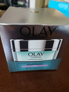 Olay Luminous Overnight Mask Advanced Tone Perfecting Moisturize Night 4.5oz.#C2