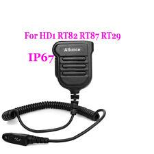 Aliunce HD1's IP67 Waterproof High Quality Speaker Mic For HD1 RT82 /29 /87