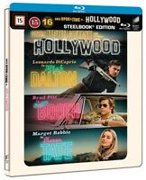 Once Upon a Time in Hollywood Limited Edition Steelbook Blu Ray