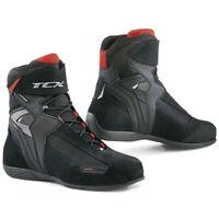 TCX Vibe WP Waterproof Street Motorcycle Boots Black Size 9.5 US / 42 EU