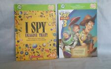Leapfrog Tag Disney Toy Story 3 AND I Spy Books