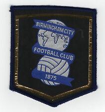 Original Vintage 1970s Football Sew On Patch Birmingham City Cloth Badge Unused