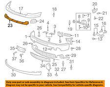 GMC GM OEM 07-10 Sierra 2500 HD Front Bumper-Center Support 15902105