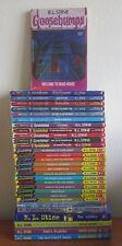 LOT OF 32 GOOSEBUMPS BOOKS BY R.L. STINE