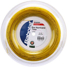 Babolat Tennis String - Pro Hurricane Tour - 200m Reel -  1.25mm/17G - Yellow