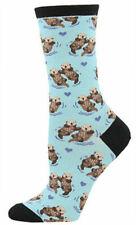 Socksmith SSW581-BCK Significant Otter Socks for Women - Blue Chalk