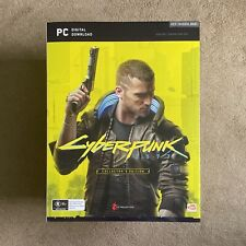 Cyberpunk 2077 Collectors PC Edition Brand New + Extra Items