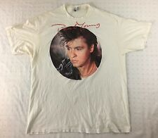 VINTAGE 1985 PAUL YOUNG THE NINE GO MAD WITH DAVY CROCKETT WORLD TOUR TSHIRT 80s