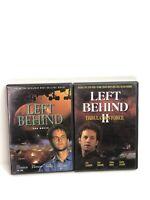 Left Behind 1 And 2 Tribulation Force Dvd Lot Mint Discs Kirk Cameron Bundle (2)